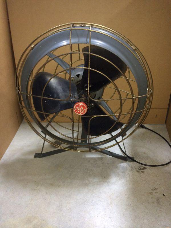 Ceiling Air Circulator : Vintage ge ceiling mount air circulator post