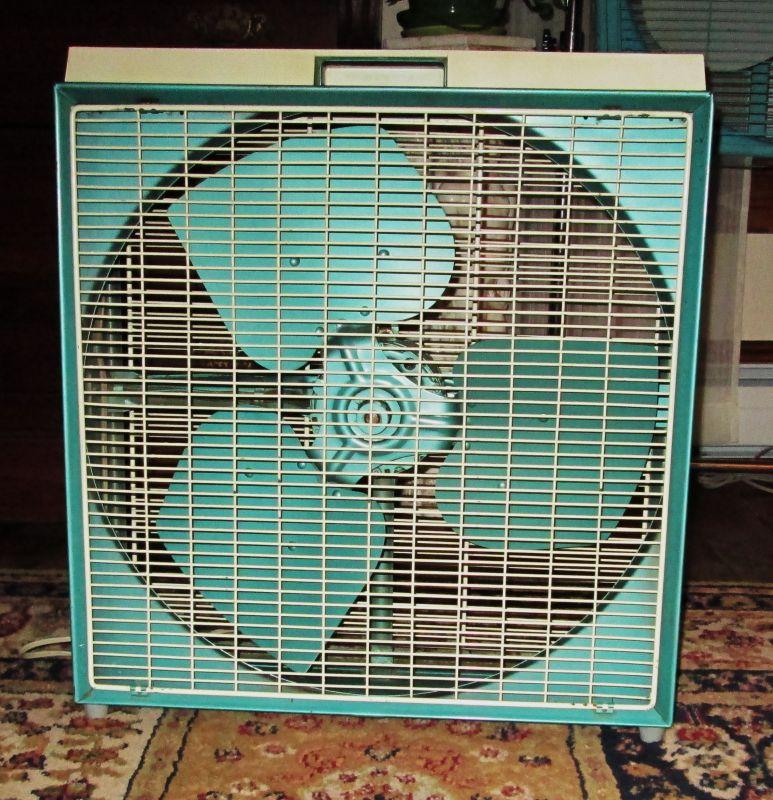 1960s Box Fan : Box fans post vintage antique fan collectors