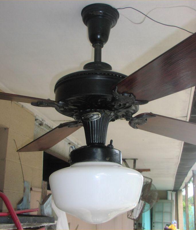 Century reversair ceiling fan refurbished pre 1950 antique century reversair redone full 1g mozeypictures Image collections