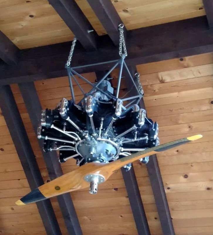 Engine Ceiling Fan : Not your run of the mill ceiling fan buy sell trade