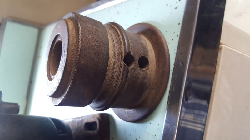 Flat Pulleys For Sale : Wood flat pulley with quot hub opening for sale buy sell trade antique fan collectors