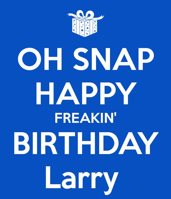A Very Happy Birthday To Larry Hancock Pre 1950 Antique