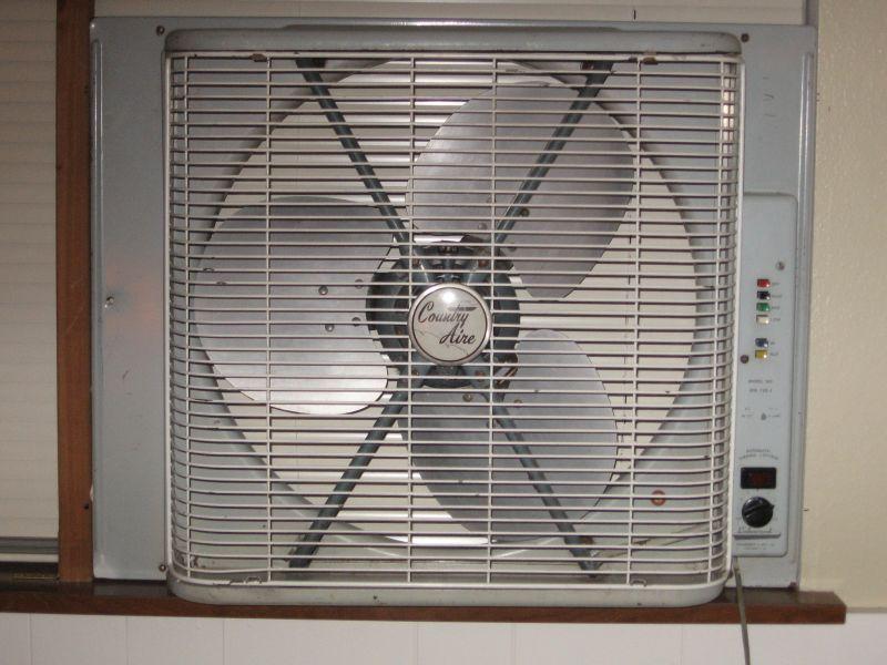 1960s Box Fan : Lets see some window fans post vintage antique