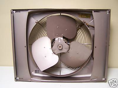 Sears Window Fan Post 1950 Vintage Antique Fan