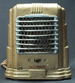 Arvin Fanned Electric Heater Post 1950 Vintage