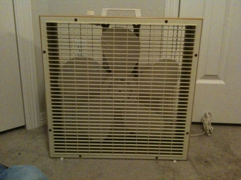 Lakewood Box Fan : Late lakewood s box fan and a new stand for my