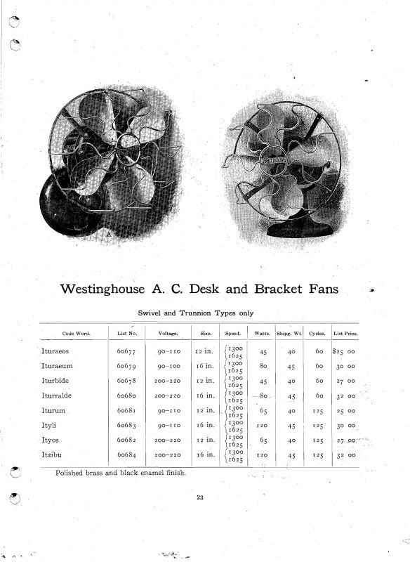 dating westinghouse fans Dating from the early it has an adjustable speed control a beautiful antique westinghouse fan antique-collection-i-will-have-some-day love those old fans.