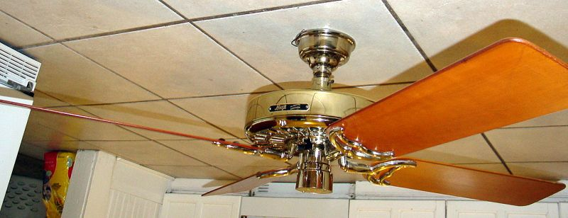Hunter original olde tyme ceiling fan brass reverse aire for attached image viewed 2231 times aloadofball Image collections