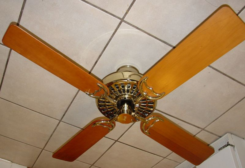 Hunter original olde tyme ceiling fan brass reverse aire for attached image viewed 1789 times aloadofball Gallery