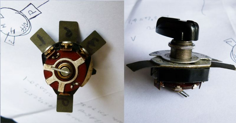 reverse engineering switch - pre-1950  antique