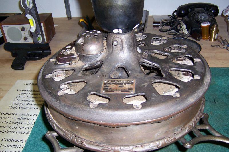 Emerson Type 45641 Ceiling Fan Pre 1950 Antique