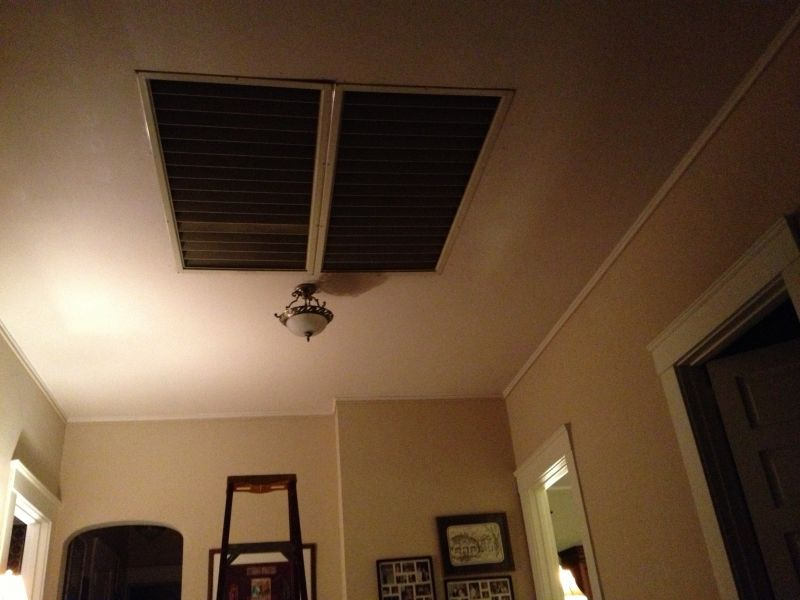 Hunter Zephair Attic Fan Post 1950 Vintage Antique