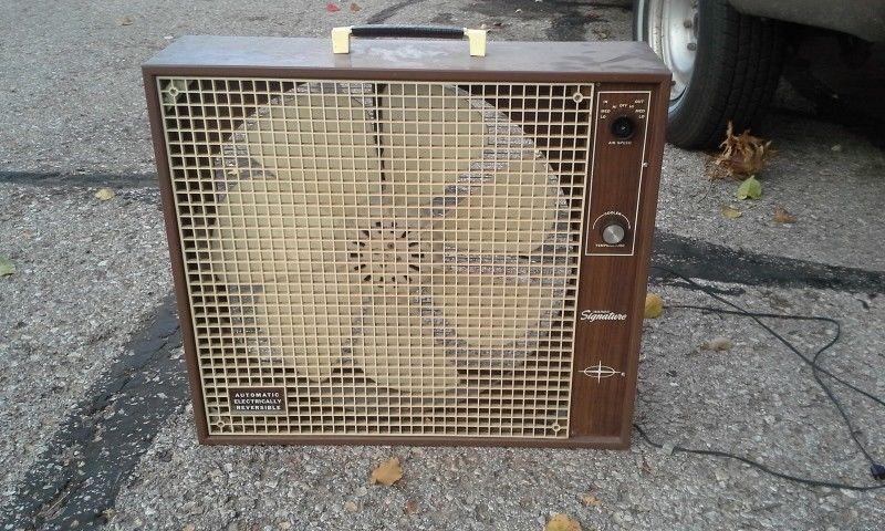 1960s Box Fan : Wtb wards signature hunter delux box fan wing version