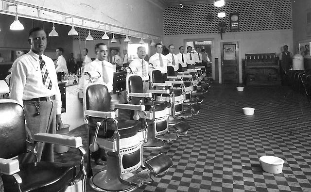 Barber Shop Durham Nc : Vintage Photos - Pre-1950 (Antique) - Antique Fan Collectors ...