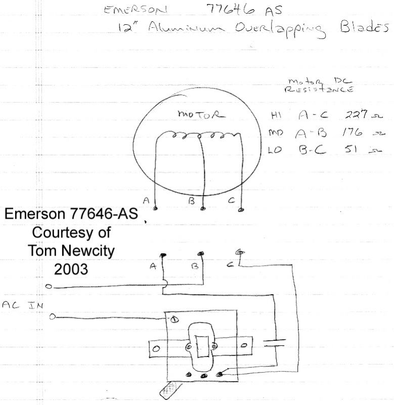 wiring help needed on emerson 79648 ap g post 1950. Black Bedroom Furniture Sets. Home Design Ideas
