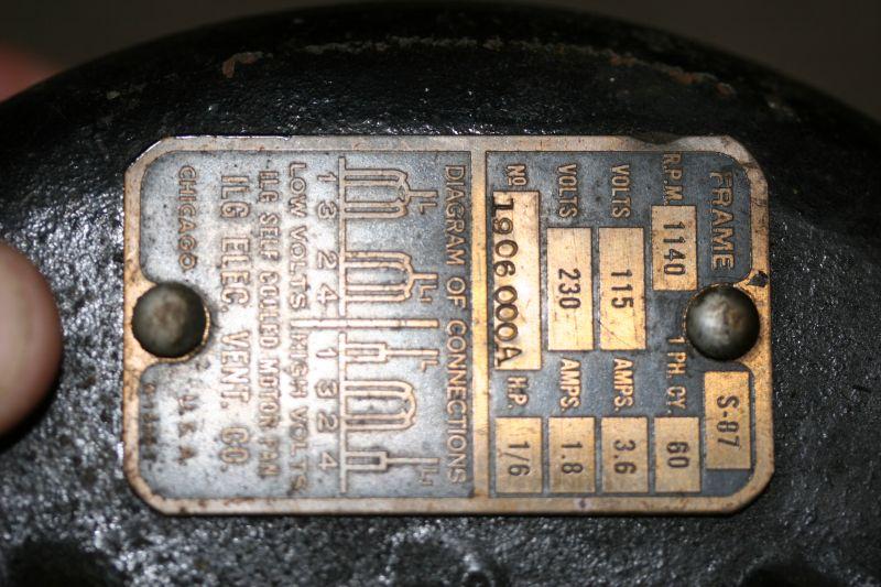 ilg model 183 motor help - pre-1950  antique