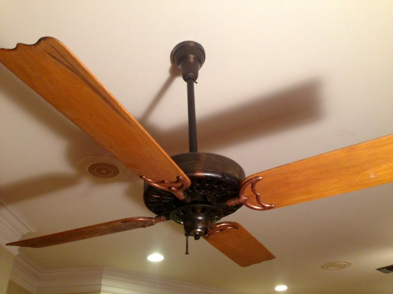 Ceiling Fan Experts Needed Whats This One Pre 1950