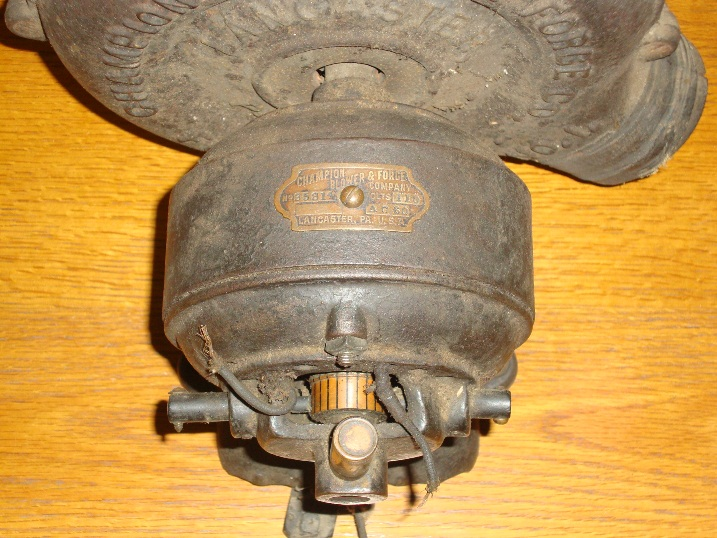 Champion Blower and Forge No 1 - Pre-1950 (Antique