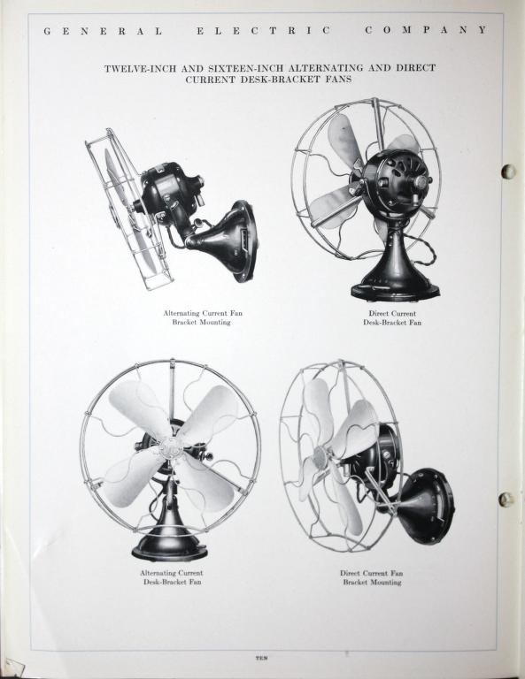 Direct Current Fan : Ge direct current fan info help pre antique