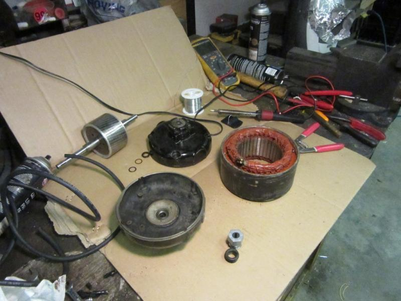 i doubled it up because the wiring will possibly be in contact with the  rear end housing of the motor