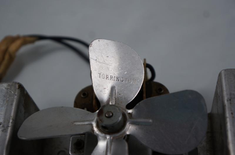 Curious About A Fan    Motor  Blade Marked  U0026quot Torrington U0026quot  - Post-1950  Vintage