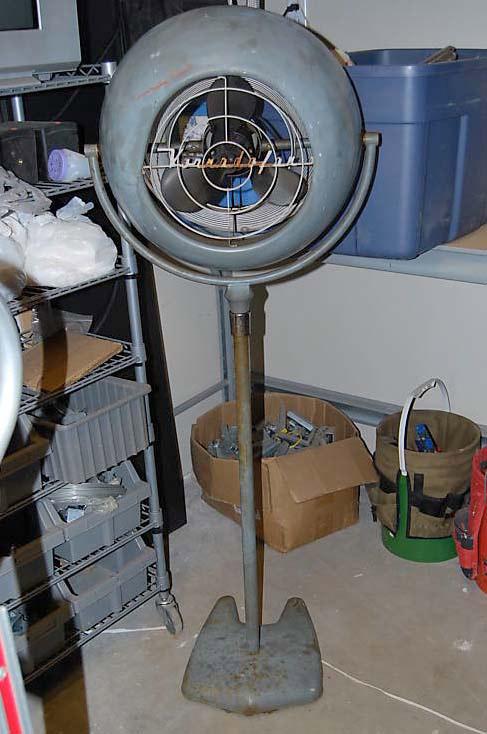 vintage pedestal fan  vornado restoration pre 1950 antique