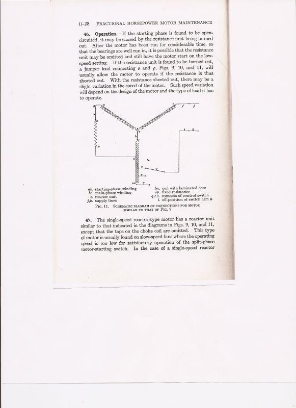 please explain how a speed coil works - pre-1950  antique